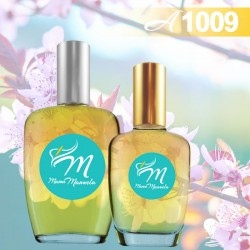 Perfume delicioso de frambuesa y notas cítricas