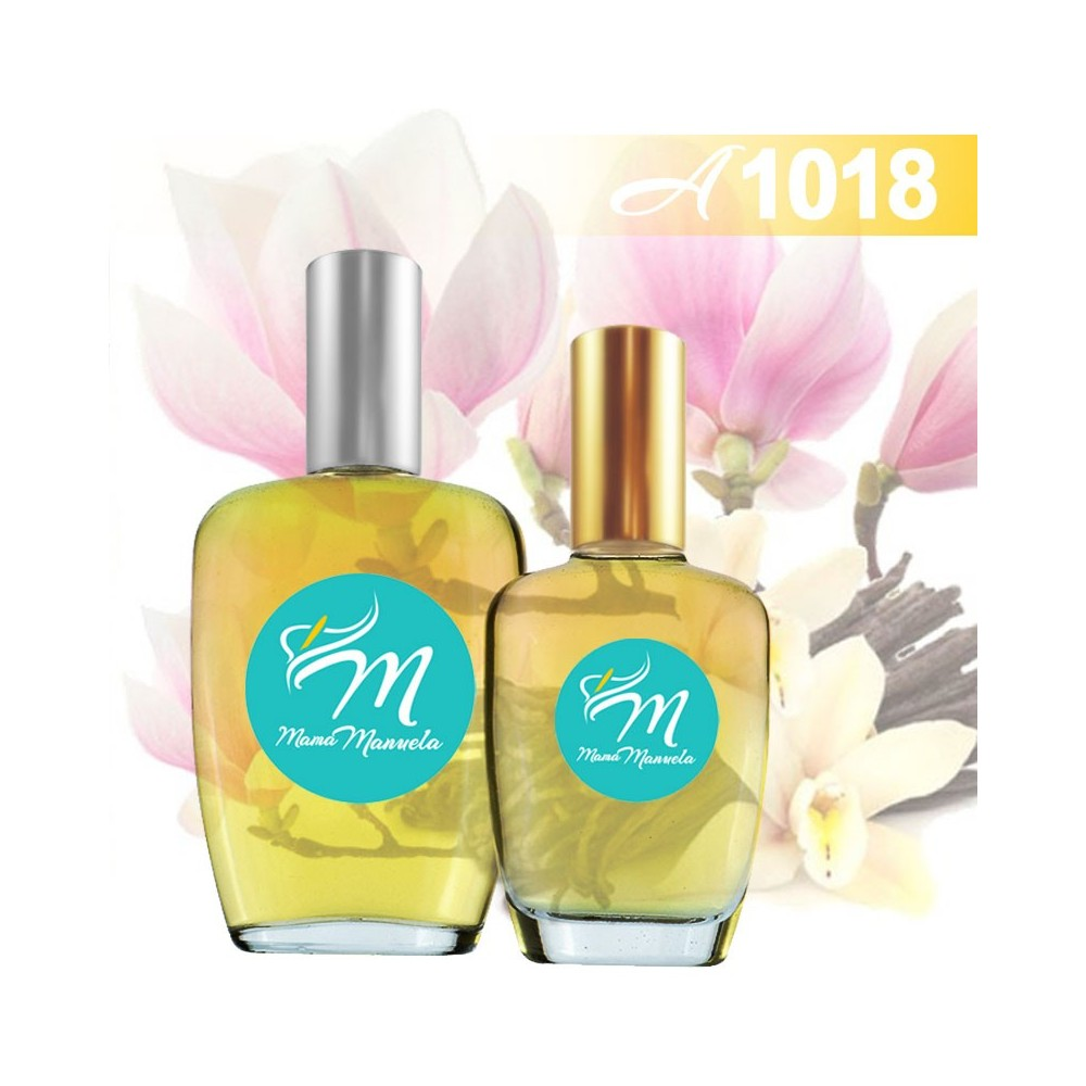 Perfume con notas de vainilla