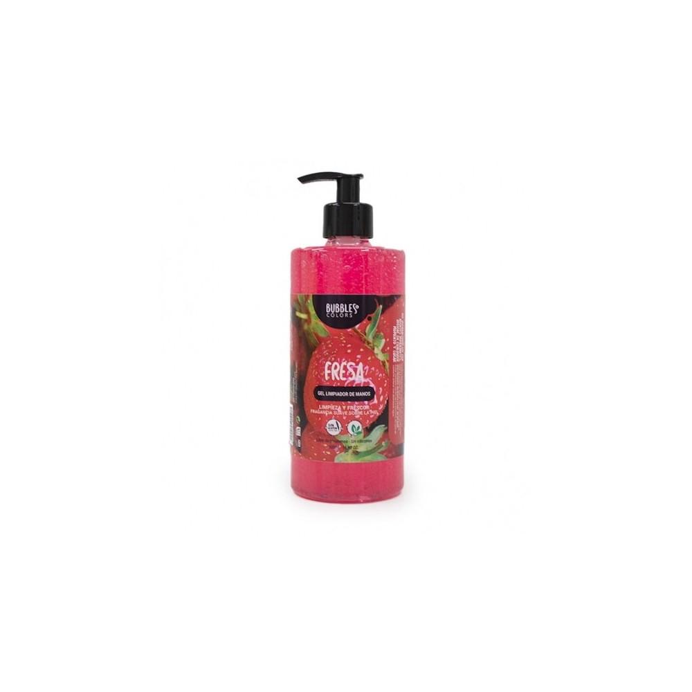 Gel hidroalcohólico aroma fresa