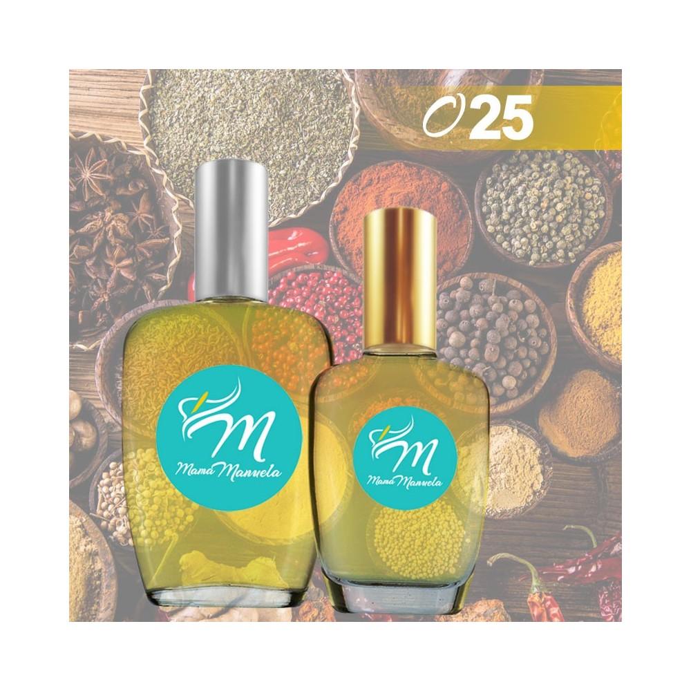 Perfume de notas cálidas y ácidas