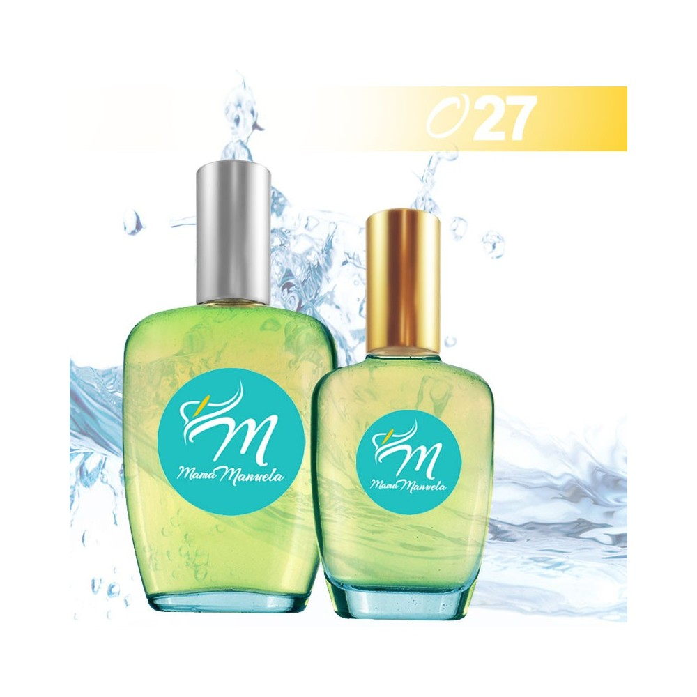 Perfume clásico para estaciones calurosas