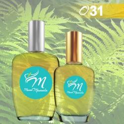 Perfume elegante, natural y sencillo