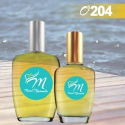 Perfume masculino de notas amaderadas y acuáticas