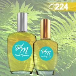 Perfume con acordes de menta, manzana y limón