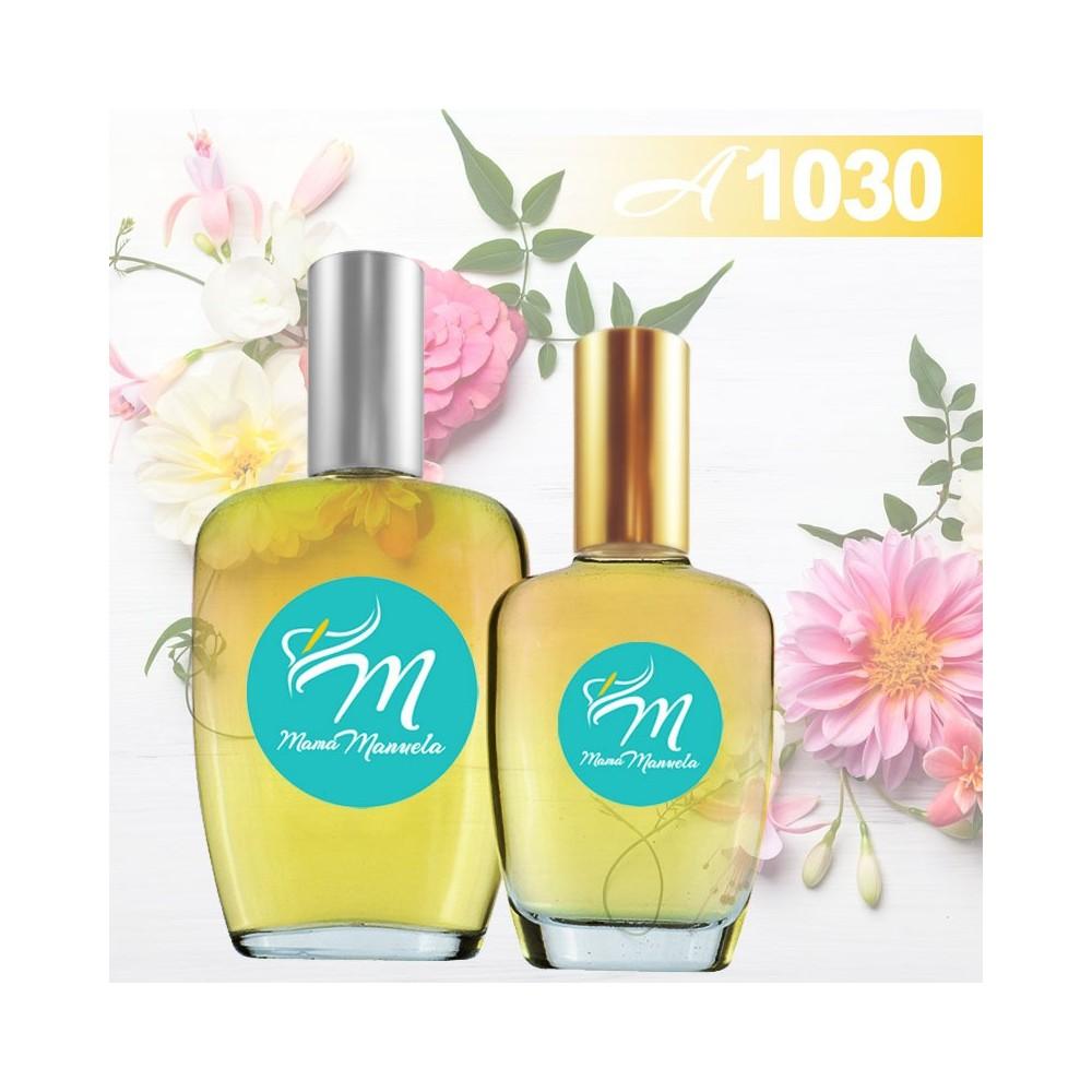 Perfume femenino con notas florales