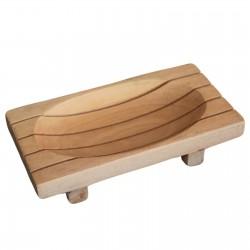 Jabonera de madera clásica...