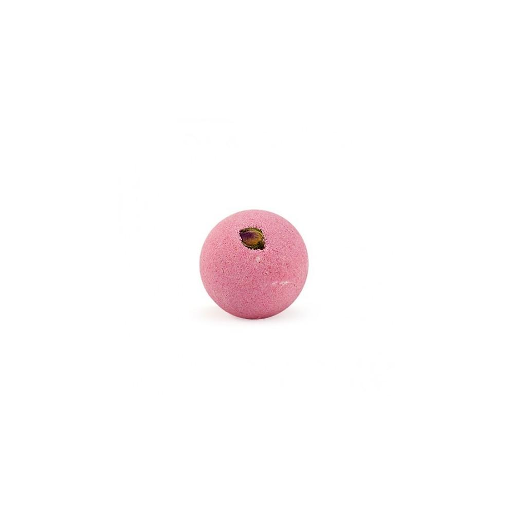 Bomba de baño de rosas