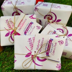 Jabón ecológico biodegradable, respetuoso con el medio ambiente