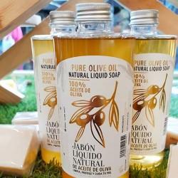 Jabón líquido 90% aceite de oliva
