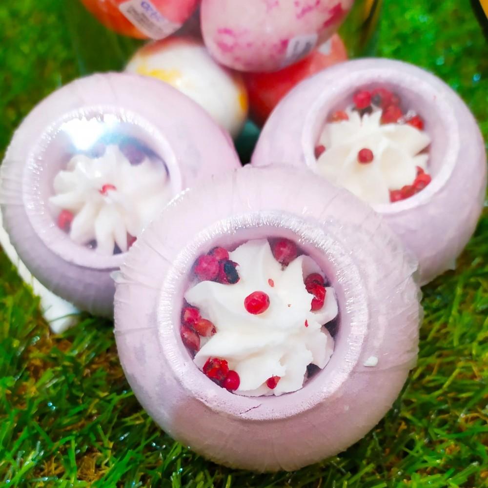 Bomba de baño con exótico aroma oriental