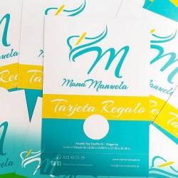 Tarjeta Regalo Mamá Manuela: elige lo que quieras y paga con tu tarjeta regalo