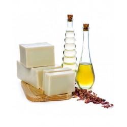 Jabón puro de aceite de oliva y rosa mosqueta