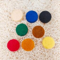 almohadilla para pulsera de aromaterapia