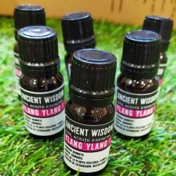 Aceite esencial de Ylang-ylang con propiedades estimulantes