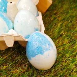 Huevo de baño efervescente