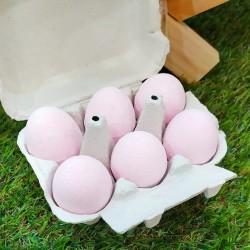 Huevos de baño aroma intenso y fresco a fresa