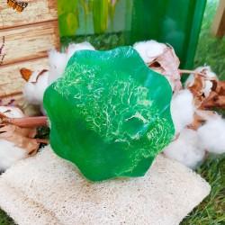 Lufa natural con jabón de glicerina