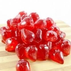 Jabón de glicerina en forma de fresa