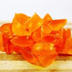 Jabón de glicerina en forma de gajo de mandarina