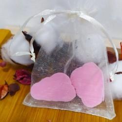 Jabón de glicerina aroma geranio