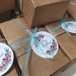 Jabón artesano para  boda