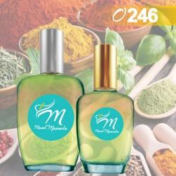 Perfume masculino con notas amaderadas
