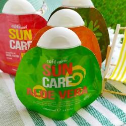 Gel refrescante de Aloe vera para después del sol