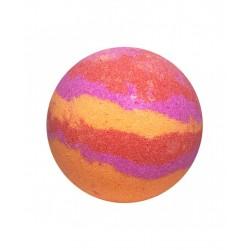 Bomba de baño con divertidos colores y aromas