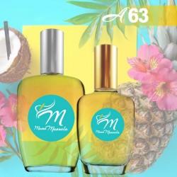 Perfume floral frutal de marca blanca