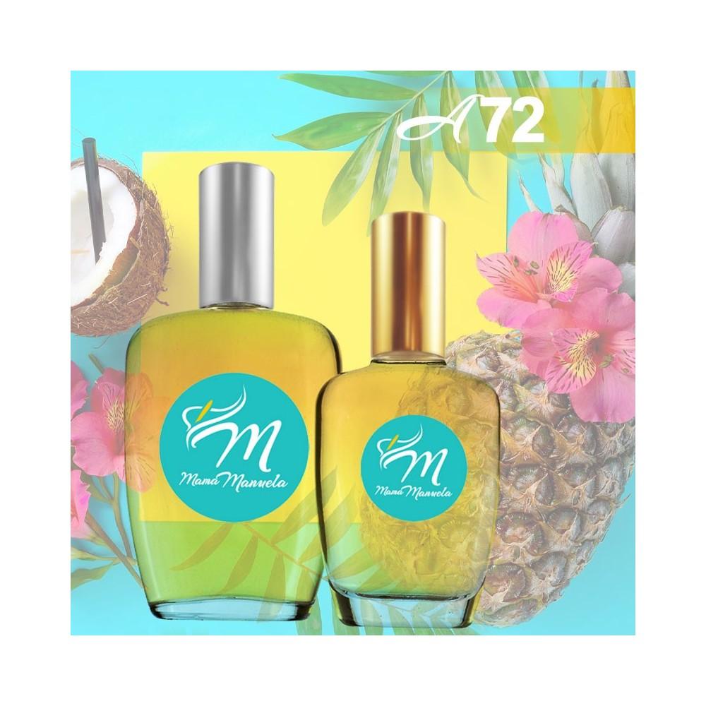 Perfume de la familia olfativa floral frutal