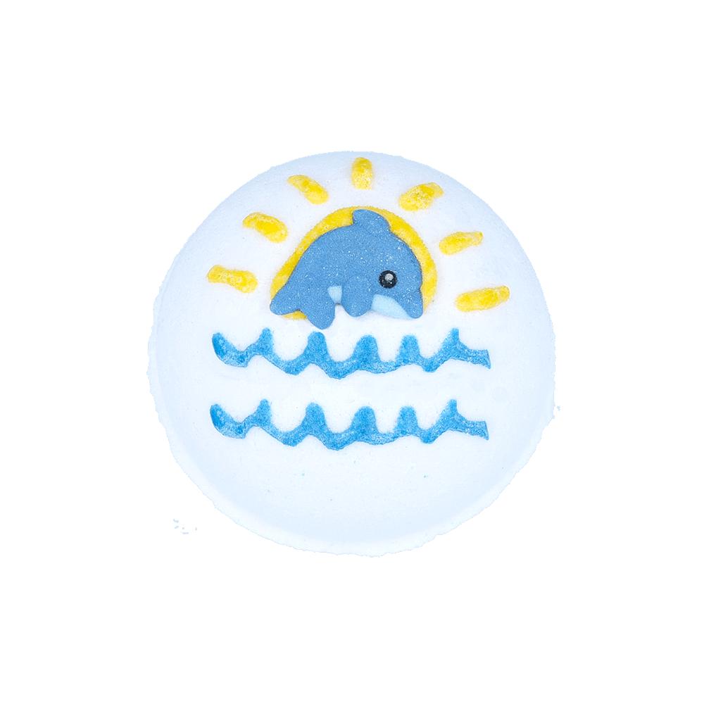 Bomba efervescente de aroma oceánico