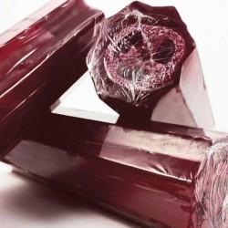 Jabón de uva roja con lufa natural