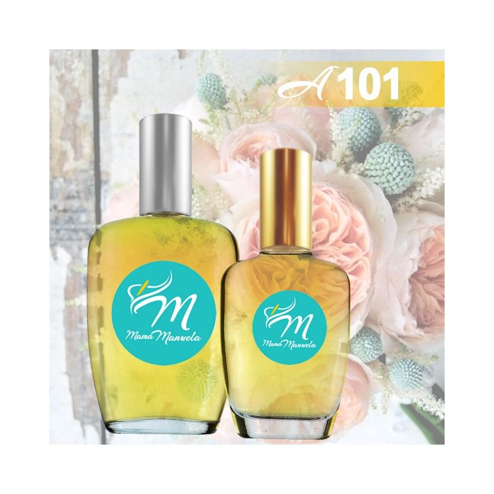 Perfume floral almizclado para mujeres