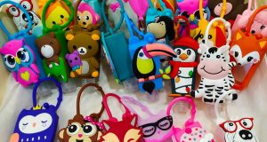 Estuches para llevar hidrogel de diseño infantil