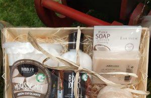 Loción corporal, jabón, espuma y mousse de baño con aroma a coco