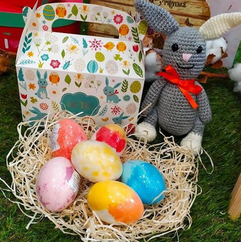 Cajas de huevos Mamá Manuela ¡Un regalo de Pascua inolvidable!