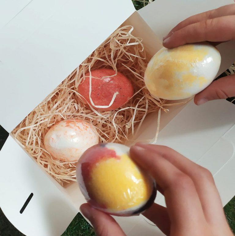 ¡Los huevos de baño también son un regalo de Pascua muy especial!