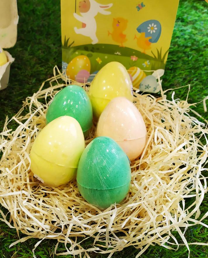 Huevos de baño con nuevos aromas frutales en Mamá Manuela