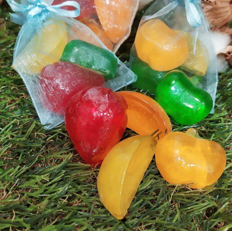 ¡Novedad! Jabones divertidos y aromáticos con formas de fruta