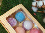 Caja bombas de baño aromáticas
