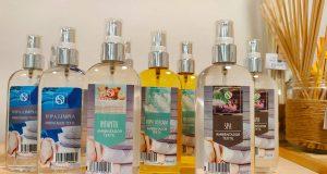 Aromas para el textil de hogar.