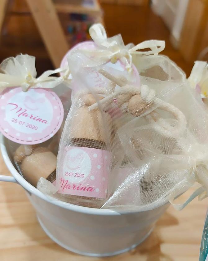 Ambientador Aroma Bebé para Coche de regalo para los invitados de Marina…
