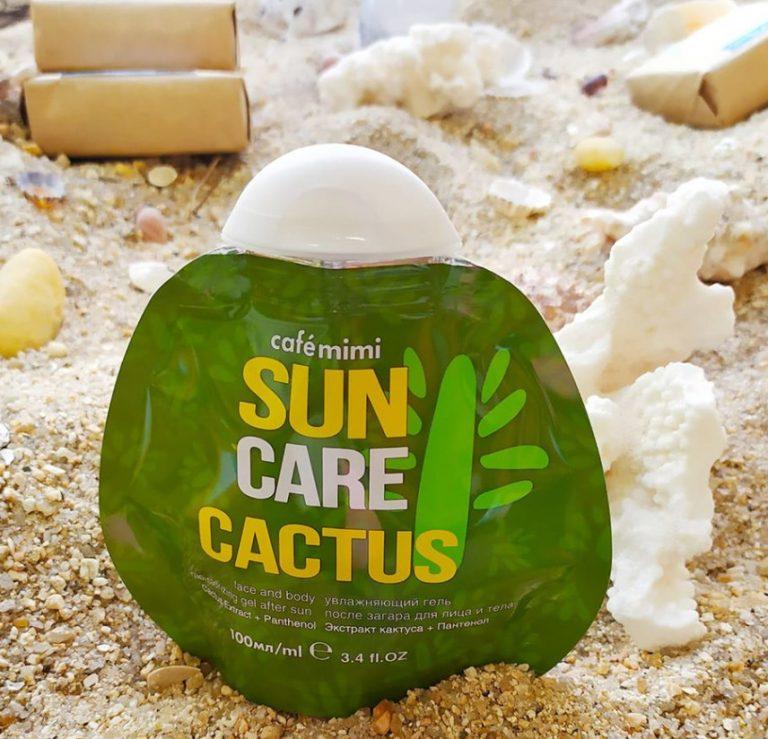 Un Aftersun con Extracto de Cactus que dará a tu piel el máximo cuidado, frescor e hidratación después de tus «sesiones al sol».