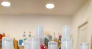 Hidrogel para manos en spray con aromas