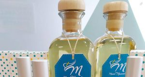 Perfumes femeninos con aromas florales.