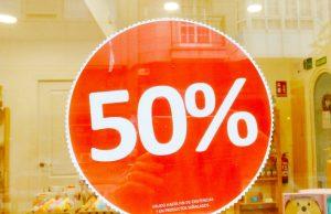 Rebajas 50%