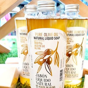 Jabón líquido de Aceite de Oliva
