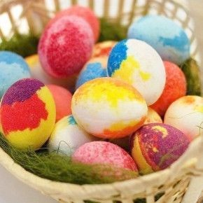 Huevos de baño